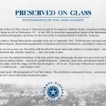 Preserved on Glass exhibition